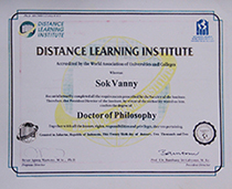 Click to see full certificate